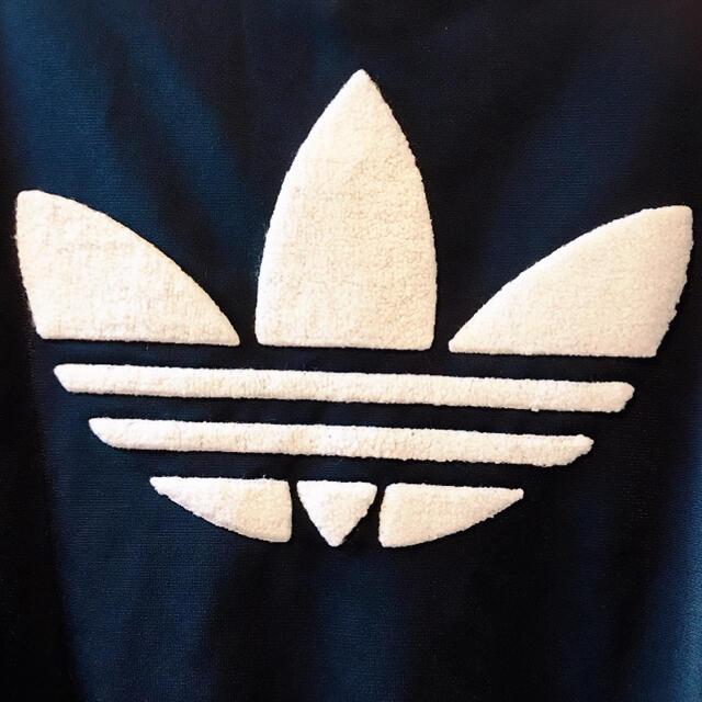 adidas(アディダス)のアディダス オリジナルス 希少 モコモコ ビッグロゴ パーカー ジャージ  メンズのトップス(ジャージ)の商品写真