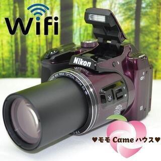ショップニコニコ(Shop NikoNiko)のニコン クールピクス B500☆WiFi搭載スーパーコンデジ☆1718(コンパクトデジタルカメラ)