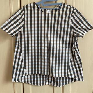 デミルクスビームス(Demi-Luxe BEAMS)のDemi-Luxe BEAMS コットンシャツ(シャツ/ブラウス(半袖/袖なし))