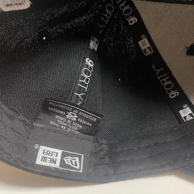 NEW ERA(ニューエラー)のニューエラ キャップNYヤンキース ブラック メンズの帽子(キャップ)の商品写真