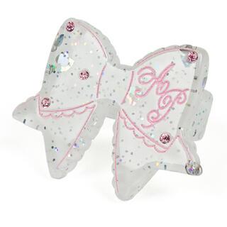 アンジェリックプリティー(Angelic Pretty)のangelic pretty きらめき リボン リング シロ(リング(指輪))