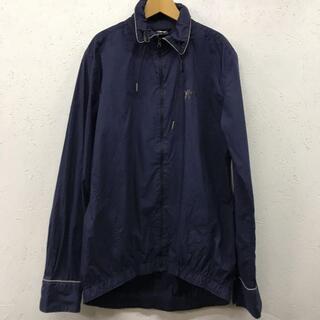 プーマ(PUMA)のプーマ PUMA コットン ジップ 丸襟 シャツ サイズM(ナイロンジャケット)