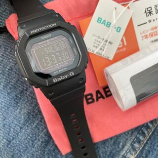 ベビージー(Baby-G)のbaby g ブラック 時計 レディース 付属品付き(腕時計)