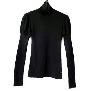 フォクシー(FOXEY)のフォクシー 長袖セーター サイズ38 M - 黒(ニット/セーター)