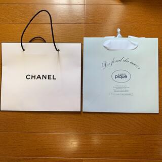 シャネル(CHANEL)のショッパー紙袋(ショップ袋)