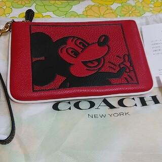 コーチ(COACH)の☆coach☆ミッキーリストレット☆キースヘリング(ポーチ)