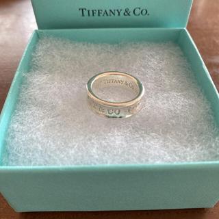 Tiffany & Co. - 【定番】ティファニー1837 シルバー ミディアム リング