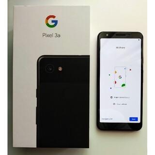 アンドロイド(ANDROID)の[値下げ] Google Pixel3a SIMフリー 中古美品(スマートフォン本体)