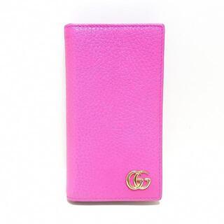 グッチ(Gucci)のグッチ 携帯電話ケース プチマーモント(モバイルケース/カバー)