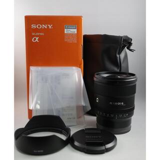 SONY - FE 20mm F1.8 G SEL20F18G 中古美品