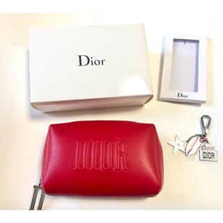 Christian Dior - 【クリスチャンディオール 】  ノベルティ ポーチ&チャーム