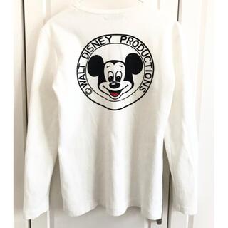 ディズニー(Disney)のDISNEY ミッキー カットソー  ロンT レディース KeyYoung(Tシャツ(長袖/七分))