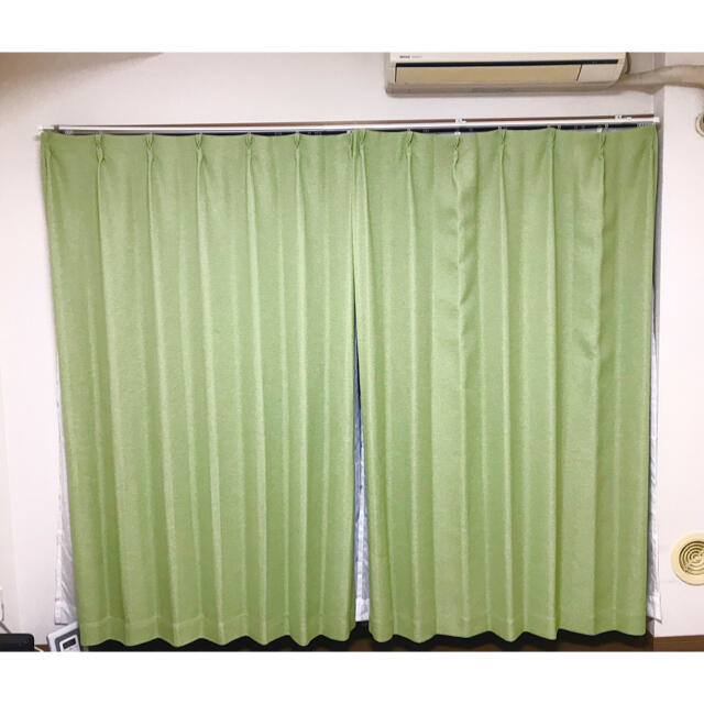 【ユユ様専用】カーテン・レースカーテン 幅100×丈178 インテリア/住まい/日用品のカーテン/ブラインド(カーテン)の商品写真