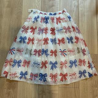 JaneMarple - リボンスカート