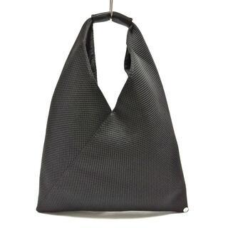 エムエムシックス(MM6)のエムエムシックス ハンドバッグ美品  - 黒(ハンドバッグ)
