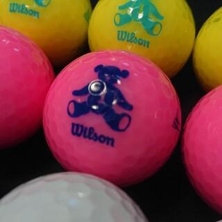 wilson - 【良品】ウィルソン ベアー 15球 ロストボール ゴルフボール