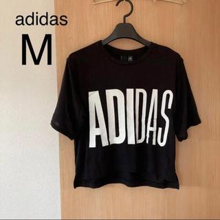 adidas - 【新品・アディダス】ビッグロゴ半袖Tシャツ M