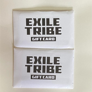 EXILE TRIBE - EXILE TRIBE ギフトカード 20000円分