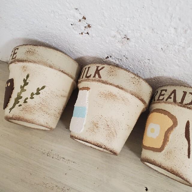 リメイク缶 リメイク鉢 ガーデン雑貨 ガーデニング雑貨 プランター 多肉 寄せ植 ハンドメイドのフラワー/ガーデン(プランター)の商品写真