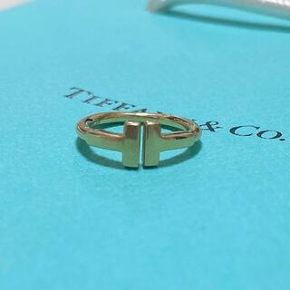 Tiffany & Co. - 【本物】ティファニーワイヤーリング ピンキーリング