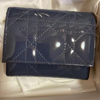 Christian Dior - ディオール ロータスウォレット デニムブルー 美品