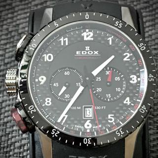 EDOX - エドックス クロノラリー1 クロノグラフ 10305-3NR-NR