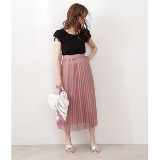 PROPORTION BODY DRESSING - オーガンプリーツスカート♡