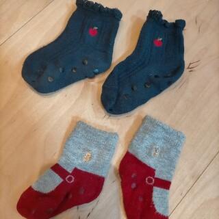 ファミリア(familiar)のファミリア 靴下 りんご 子供 新生児 ファミちゃん(靴下/タイツ)