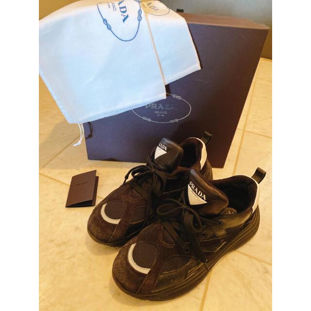 PRADA(プラダ)のPRADA/確実正規品/スニーカー ゴッドシューズ レディースの靴/シューズ(スニーカー)の商品写真