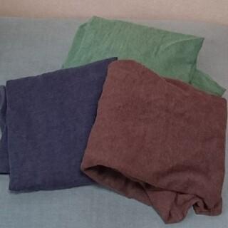 ムジルシリョウヒン(MUJI (無印良品))の無印良品 Tシャツ 3枚セット(Tシャツ(長袖/七分))
