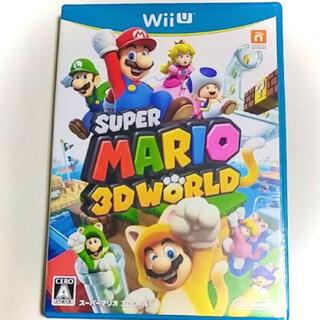 ウィーユー(Wii U)のWiiU スーパーマリオ3Dワールド(家庭用ゲームソフト)