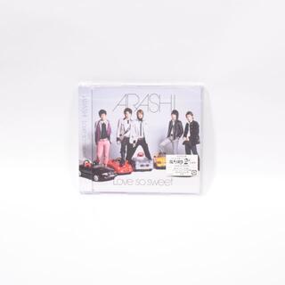 アラシ(嵐)の美品◆嵐◆Love so sweet◆初回限定盤◆CD◆ファイトソング収録(ポップス/ロック(邦楽))