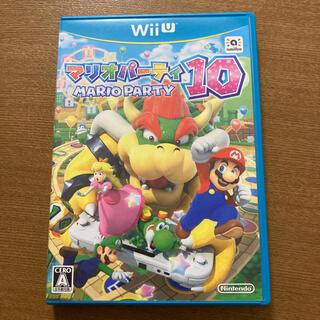 ウィーユー(Wii U)のマリオパーティー10 Wii  u(家庭用ゲームソフト)