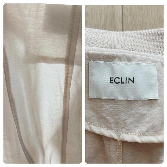 値下げ!ECLIN シースルージャケット レディースのジャケット/アウター(ブルゾン)の商品写真