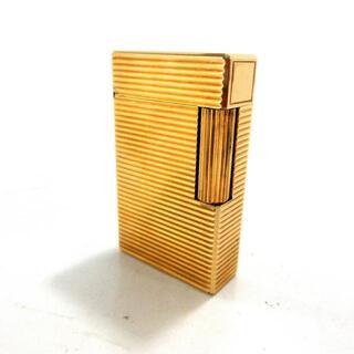 デュポン(DuPont)のデュポン ライター ゴールド 金属素材(タバコグッズ)