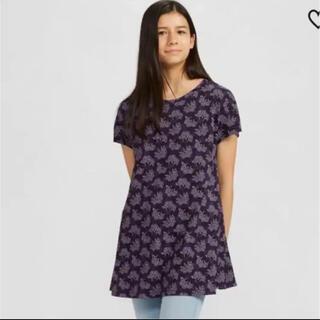 ユニクロ(UNIQLO)のユニクロ アナスイコラボ チュニック(Tシャツ(半袖/袖なし))