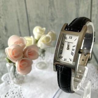 バーバリー(BURBERRY)の【動作OK】BURBERRY バーバリー 腕時計 レクタンギュラ 14000L(腕時計)