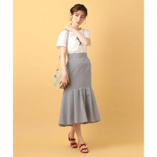 デイシー(deicy)のDEICY♡デイシー♡ミニチェックマーメイドスカート(ロングスカート)