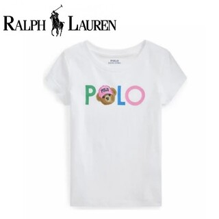 POLO RALPH LAUREN - レア♪ポロ ラルフローレン polo ポロベア ガール Tシャツ