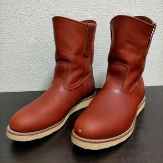 レッドウィング(REDWING)のRED WING ペコスブーツ  ( 赤茶 )(ブーツ)