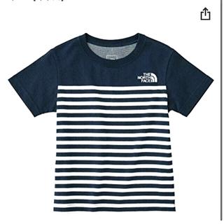 THE NORTH FACE - ノースフェイス キッズ Tシャツ ボーダー 半袖 新品 90cm 100cm