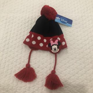 ディズニー(Disney)の新品 ミニー  ニット帽 49〜53cm(帽子)