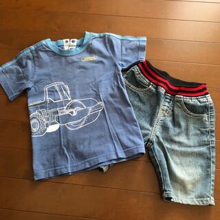 フェリシモ(FELISSIMO)のTシャツ(フェリシモ) ズボンのセット 90cm(Tシャツ/カットソー)