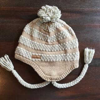 モンベル(mont bell)の新品モンベルレディース帽子フリーサイズ値下げ不可(ニット帽/ビーニー)