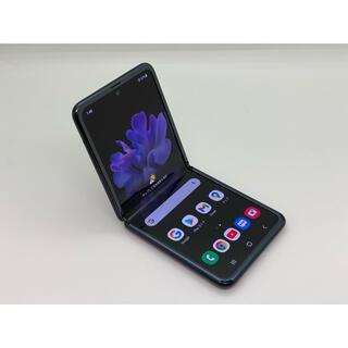サムスン(SAMSUNG)の[958] galaxy Z Flip 256GB ブラック SIMフリー(スマートフォン本体)