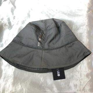 LHP - hyein seo ヘインソ ナイロンバケットハット 帽子 グレー 灰色