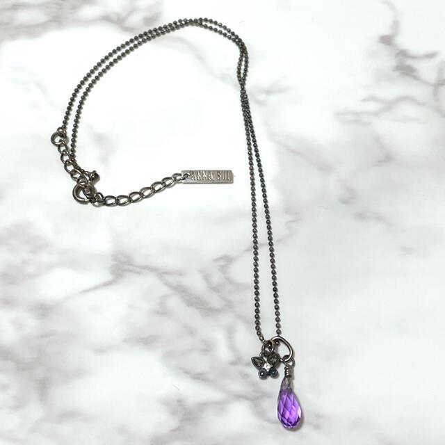 ANNA SUI(アナスイ)のANNA SUI♡蝶々 ネックレス レディースのアクセサリー(ネックレス)の商品写真