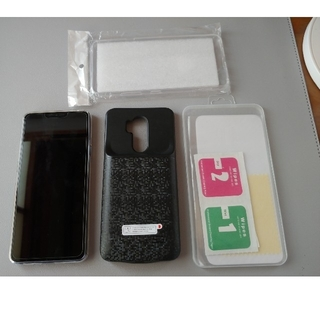 エルジーエレクトロニクス(LG Electronics)のLG G7 ThinQ LG-G710VW SIMフリースマートフォン ブルー(スマートフォン本体)