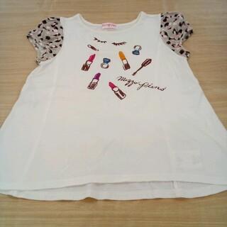 メゾピアノジュニア(mezzo piano junior)のメゾピアノ 140cm 半袖 Tシャツ 02MN06131492(Tシャツ/カットソー)