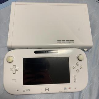 ウィーユー(Wii U)のニンテンドー WiiU 32GBモデル(携帯用ゲーム機本体)